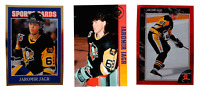 (3) Jaromir Jagr Odd-Ball Trading Card Lot