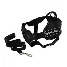 Dean & Tyler DT Fun Chest Support RESCUE DOG Harness X-Large A4