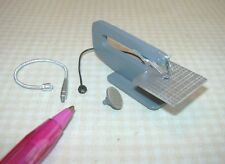 Miniature TINY Scroll Saw/Moto-Tool, Amazing! Not Real! DOLLHOUSE 1/12 Scale