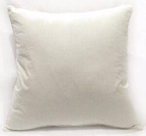Rc501a White Plain Soft Pure Cotton Fabric Cushion Cover/Pillow Case*Custom Size