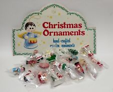 Lot of 22 New Wooden ChristmasTree Ornaments