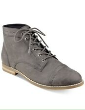Indigo Rd. Harts Lace Up Oxford Booties Shoes Dark Gray Size 6M 8.5M NWOB Women