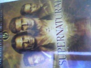 Supernatural: Season 15 - DVD UK - New  Sealed - free post