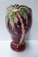 BESWICK PALM TREE  ROUGE ROYALE VASE HAND PAINTED ART DECO 1072