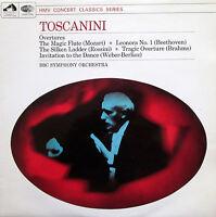 XLP 30079 Toscanini Overtures Mozart Rossini Beethoven etc BBC Symphony NM/EX