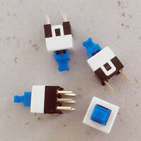 50pc Miniature Toggle Switch Water Proof IP67 On//On 3P 5A120V UL 1AS1T1B1M1CES