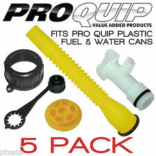 PRO QUIP Plastic Fuel and Water Can Accessories - 5 Pack