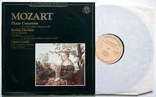 MOZART Piano Concertos 21/24 ROSINA LHEVINNE/GLENN GOULD CBS 60276 LP
