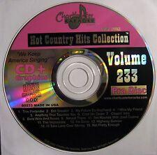 Chartbuster Karaoke - CB60233 CDG (May 2002)  Joe Diffie Tracy Byrd !!! SALE !!!