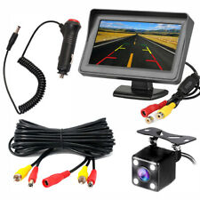 Vehicle Back Up Reverse Camera View Angle Auto LED Lights Night Vision for Car