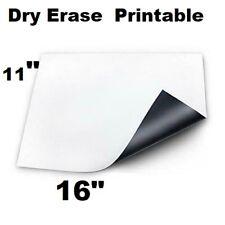 2 Pc Magnetic Dry Erase White Board 16 X 11 For Fridge Cars Printable