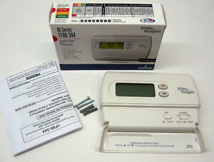 1F86-344 White Rodgers Wall Thermostat Heat Cool Non Programmable Single Stage