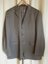 Vintage Burberry Brown Striped Men's Suit