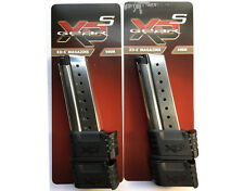 Springfield Armory XDs 9MM 9 Round Extended Factory Magazines (2) XDS MAG 9 CLIP