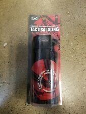 UTG Deluxe 3 Point Multi-Functional tactical rifle sling black PVC-GB501