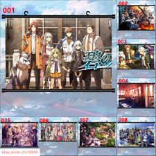 Anime The Legend Of Heroes Vi Lloyd Bannings Wall Scroll Poster Manga Wall Gifts