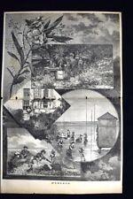 D'Estate Incisione del 1885