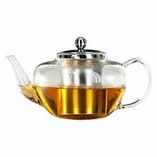Horwood Glass Teapot 1 Litre Transparent