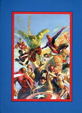 MARVEL SUPER HEROES SECRET WARS PRINT PROFESSIONALLY MATTED Alex Ross Art
