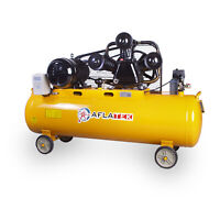 Aflatek Air compressor 200 Litre 670l/Min - 23.6CFM 5.5kw 8bar 400V 7.5HP 3HP