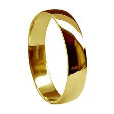 Anelli di metalli preziosi senza pietre in oro giallo misura anello 16