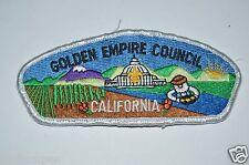 WOW Vintage Boy Scouts Golden Empire Council California Uniform Patch BSA
