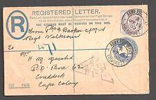 Cabo de Buena Esperanza Boer War: 1902 (13 de mayo) Regd 2d - 2123