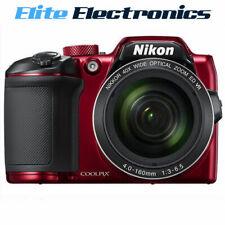NIKON B500 RED COOLPIX DIGITAL FULL HD 1080P VIDEO CAMERA 16MP 40X OPTICAL ZOOM