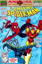 The Amazing Spider-Man #25 (1991) Annual Part 1 The Vibranium Vendetta Ghost