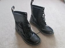Black patent Dr Martens by Goldigga Adults Size  6