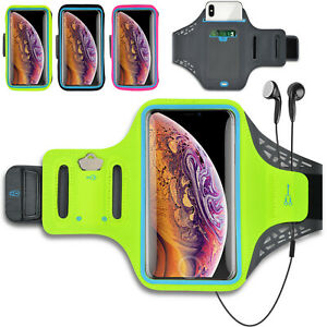 Jogging Sport Armband Running Water Resistant Pouch Phone Card Holder Bag Case