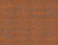HO Scale Multicolor Brick Model Train Scenery Sheets - 5 Seamless 8.5x11
