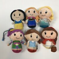 Hallmark Itty Bittys Disney Princess Barbie Plush Little Dolls Lot