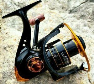 Spinning Fishing Reel Roller Coil Wheel Spool 13 BB 5.2:1 High Speed Left Right