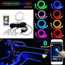 6M Auto PKW LED Ambientebeleuchtung Innenraumbeleuchtung Lichtleiste App Control