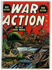 War Action #2 (Solid) Korean War; Hartley; Brodsky; Atlas Comics; 1952 (j#2056)
