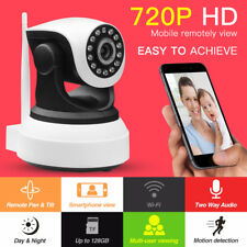 CCTV Wireless Wifi 720P HD H.264 P2P 1MP IP Network IR Security Camera Cam P/T