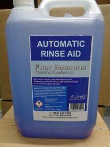 DISHWASHER RINSE AID LIQUID 5 LITRE X 2