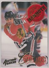 1994 Action Packed Mammoth Chicago Blackhawks #MM1 Chris Chelios 00047/25000