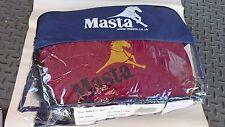"""Masta Windsor Show Suede Fleece Rug - Burgundy/Navy 5'9"""""""