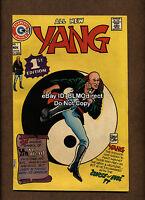 1973 Yang #1 VF+ First Appearance Kung Fu Charlton Comics