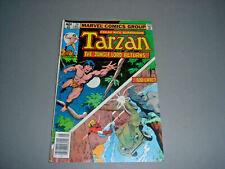 Tarzan No. 24 Marvel Comics Vol. 1 No. 24 May 1979  FN 6.0