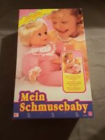 Mein Schmusebaby Hasbro Vintage Neu Ovp Real Baby Coos & Giggles Doll Puppe Mint
