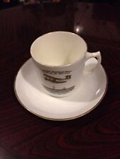 More details for extremely rare 1909 first british aviation week cup and saucer