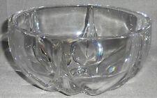 Nachtmann KROKUS PATTERN Crystal Glass Bowl