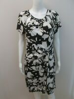 LEONA BY LEONA EDMISTON BLACK/WHITE DRESS SIZE 12  (#X491)