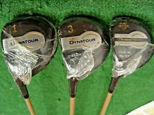 GOLF CLUB CLUBS SET OF LADIES DYNATOUR OVERSIZE WOODS DRIVER 3 & 5  LEFT HANDED