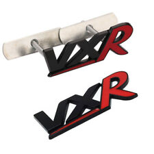 2Ps VXR Alloy Badge Black & Red Rear Tailgate & Front Grill Sticker For Vauxhall