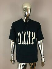 New Authentic10 DEEP Dark Blue Color Jersey Like T Shirt Size  M