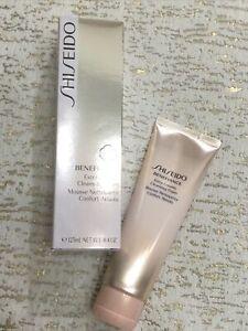 Shiseido Benefiance Extra Creamy Cleansing Foam 125ml /4.4oz ~SEALED NEW